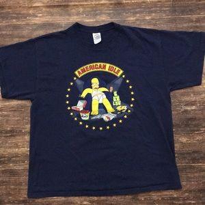 Homer Simpson T-shirt Size XL